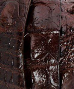 Thắt lưng da cá sấu ST 002, mua dây lưng cá sấu