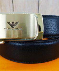 Dây lưng nam Giorgio Armani khóa lăn VOX30