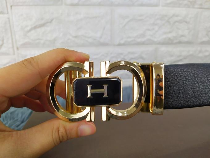 Dây lưng Gucci sang trọng mặt khóa vàng VOX19