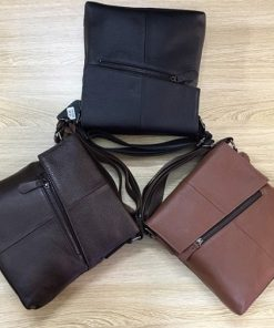 Túi đeo chéo 100% da bò xịn VTD02