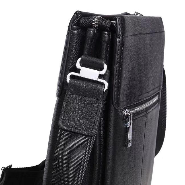 Túi đeo chéo nam da bò xịn VTD03