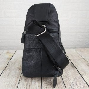Túi đeo chéo, đeo ngực da bò xịn VTD12