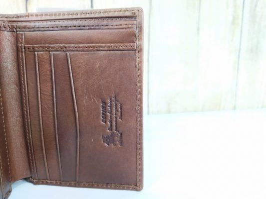 Bóp da Cefiro mềm dáng đứng lịch lãm VDD74