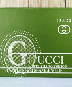 Bóp da Gucci da thật dáng đứng VDD26