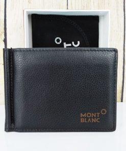 Bóp da kẹp tiền Mont Blanc VDD66