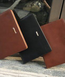 Cặp da bò cao cấp (vừa giấy A4) VOD27