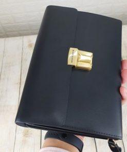 Clutch cầm tay khóa số lịch lãmVOC41
