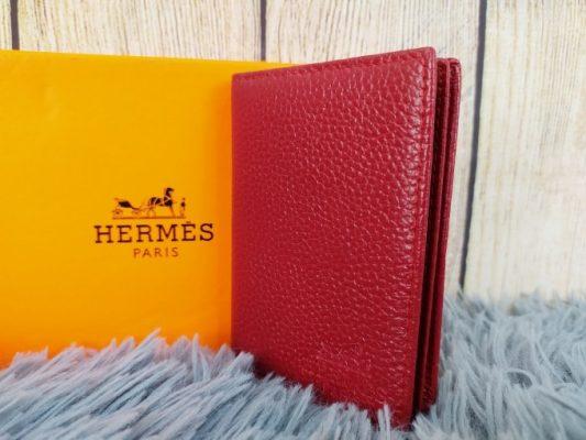 Ví da nam Hermes dáng đứng VDD76