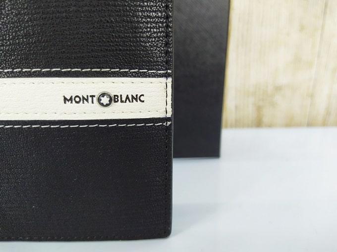 Ví da nam Mont Blanc đen sang trọng VDD69