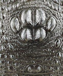 Ví dài cầm tay da bò vân cá sấu VOC34