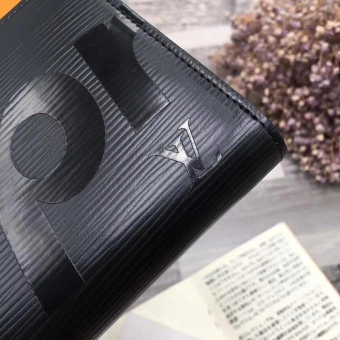 Ví dài nam LV màu đen VOC54
