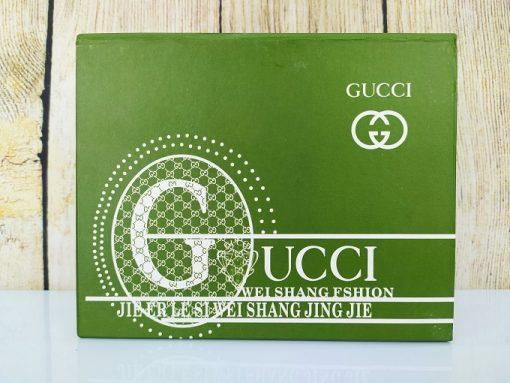 Ví nam Gucci dáng đứng màu đen VDD30