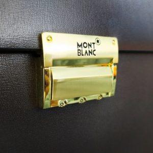 Cặp da MontBlanc cao cấp màu nâu VOD73