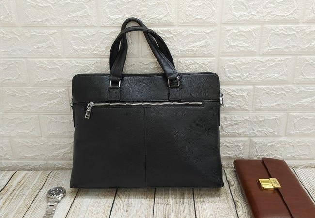 Túi xách da thật màu đen VOD34
