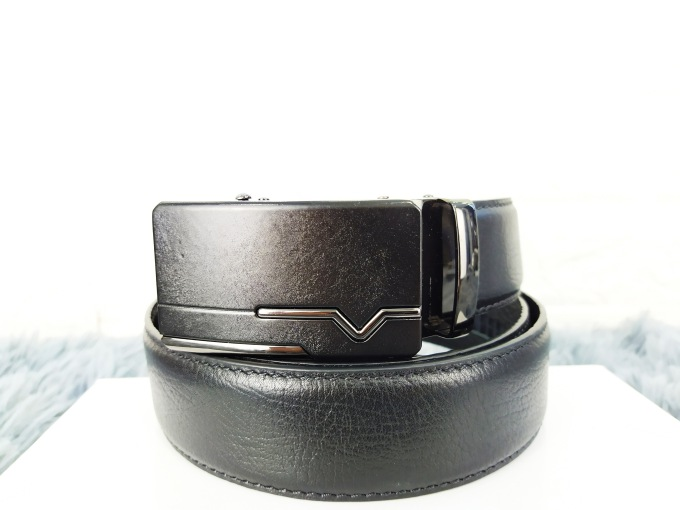 Thắt lưng da bò khóa cài VOX21
