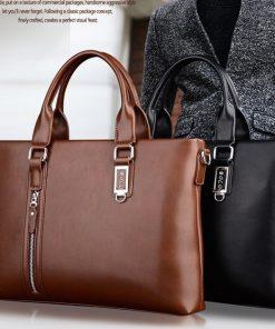 Túi xách nam thiết kế độc đáo VOP38